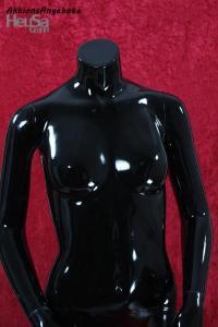 schaufensterpuppe ohne kopf weiblich schwarz torso kaufen bei. Black Bedroom Furniture Sets. Home Design Ideas