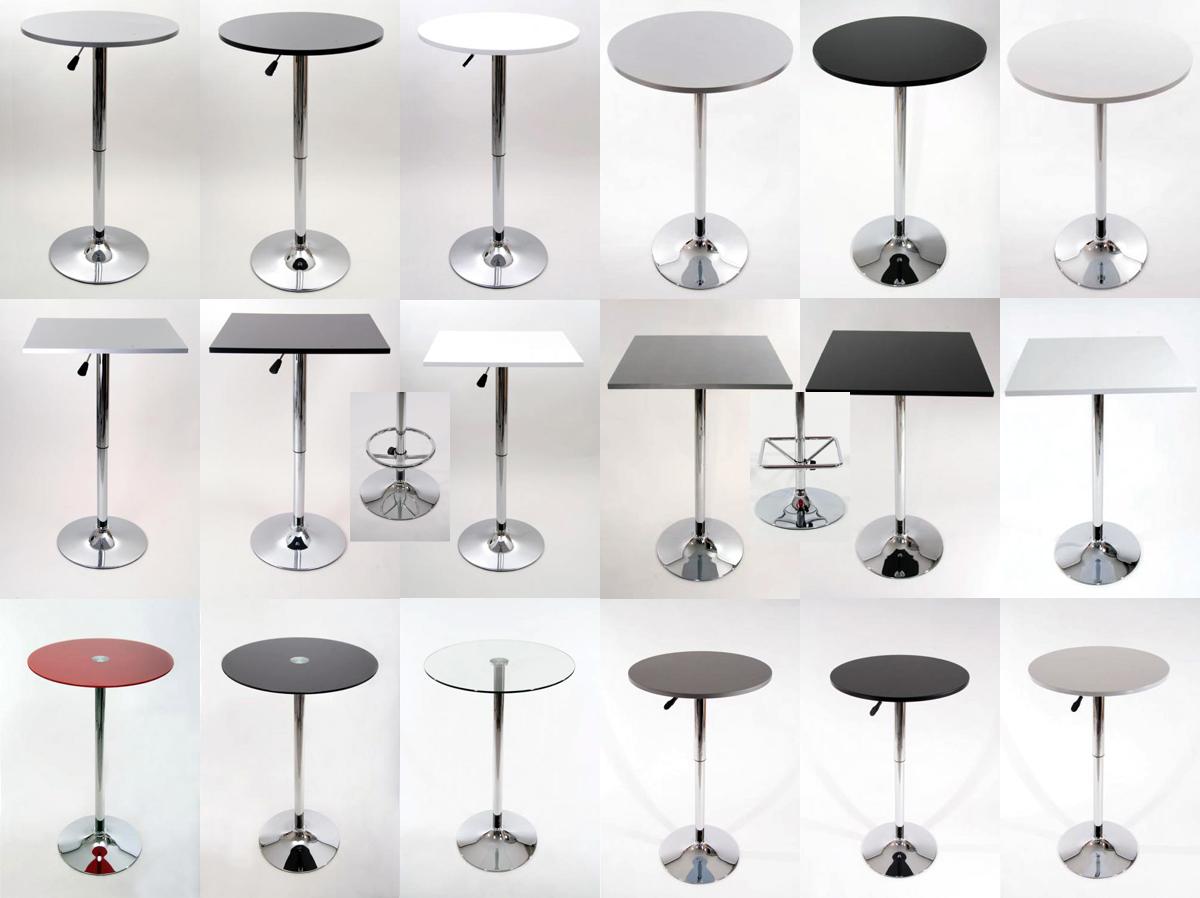 glasplatte holzplatte h henverstellbar fu st tze tisch neu ebay. Black Bedroom Furniture Sets. Home Design Ideas