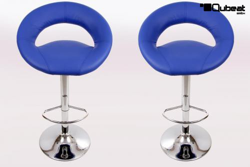 design barhocker blau moderner barhocker clemens in blau. Black Bedroom Furniture Sets. Home Design Ideas