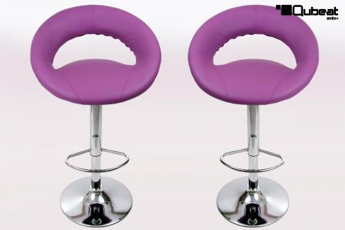 design barhocker lila bequemer barstuhl in violettem lila. Black Bedroom Furniture Sets. Home Design Ideas