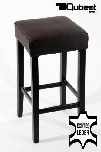 holzbarhocker in braun schwarz 2x edler holzbarhocker barhocker holz braun holzgestell schwarz. Black Bedroom Furniture Sets. Home Design Ideas