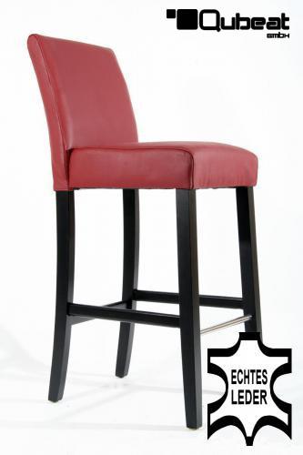 hochwertige holzbarhocker in weinrot 2x edler holzbarhocker weinrot holzgestell schwarz mit. Black Bedroom Furniture Sets. Home Design Ideas