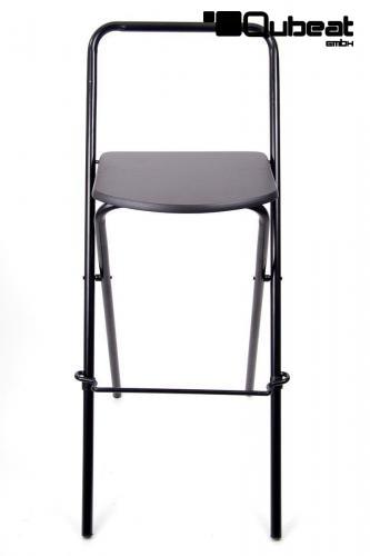 6x barhocker klappbar schwarz schlichtes design praktisch for Barhocker klappbar