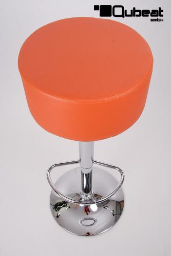 Barhocker Orange barhocker orange höhenverstellbar runder sitz klassisch gut