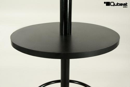 bistrotisch mit zwei ebenen sehr stabil bistro tisch. Black Bedroom Furniture Sets. Home Design Ideas
