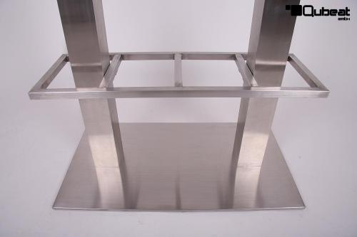 bistro tisch wei mdf platte eckig xxl 70x 150 cm 50 kg bistro tisch wei 50 kg b ware mdf. Black Bedroom Furniture Sets. Home Design Ideas