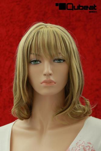 Schwarzen strähnen mit blond Graue Strähnchen