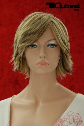 damenper cke mit mittellangem blonden haar mit schwarzen. Black Bedroom Furniture Sets. Home Design Ideas
