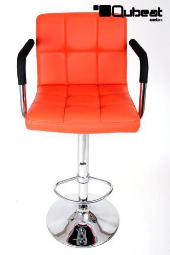 Design barhocker orange stilvoll und edel der barsessel for Barhocker orange