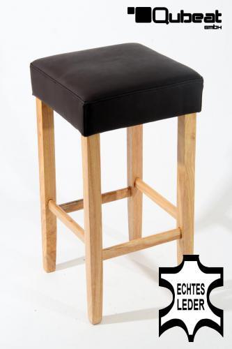 holzbarhocker in braun natur edler holzbarhocker braun barhocker holz holzgestell natur echt. Black Bedroom Furniture Sets. Home Design Ideas