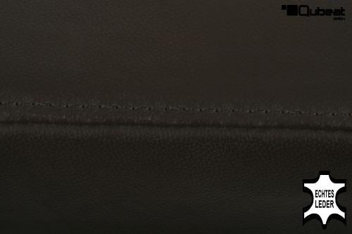 Holzbarhocker in braun schwarz b ware edler holzbarhocker for Barhocker echt leder mit lehne