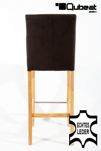 holzbarhocker in braun natur edler holzbarhocker braun holzgestell natur barhocker holz mit. Black Bedroom Furniture Sets. Home Design Ideas
