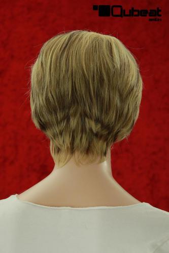 Kurzhaarperücke In Blond Mit Braunen Strähnen Für Damen