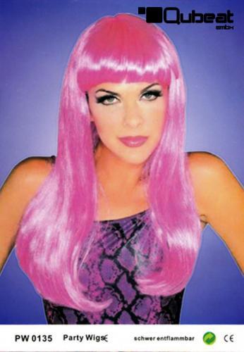 Pinke Perücken