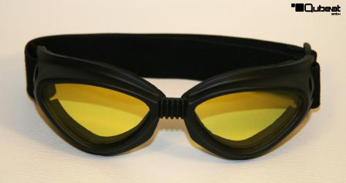 skibrille snowboardbrille schwarz gl ser gelb get nt. Black Bedroom Furniture Sets. Home Design Ideas