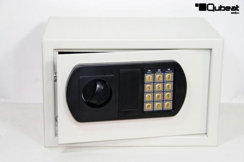 tresor mit elektronischem zahlenschloss 310 x 200 x 200 mm. Black Bedroom Furniture Sets. Home Design Ideas