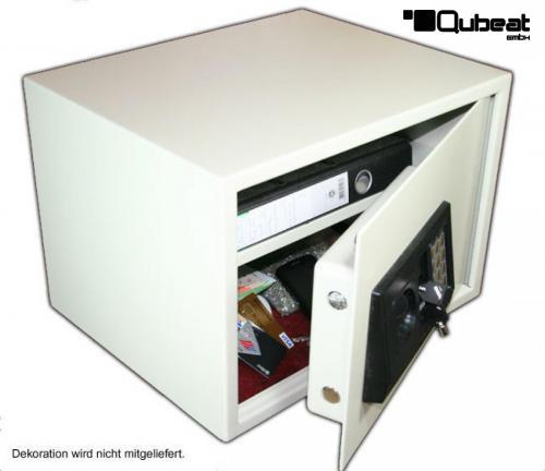 tresor mit elektronischem zahlenschloss 450 x 310 x 350 mm. Black Bedroom Furniture Sets. Home Design Ideas